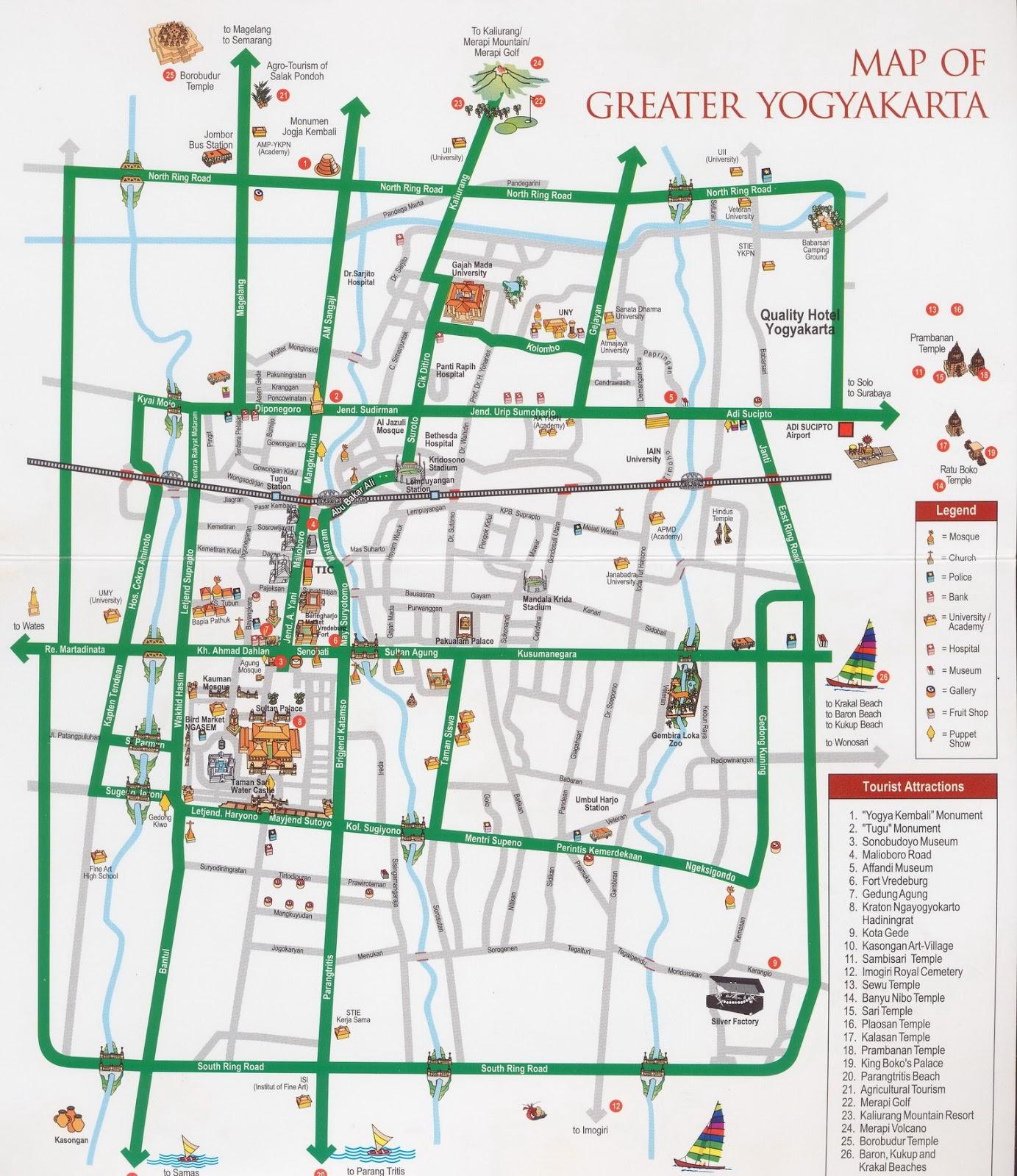 My life My way: Peta Wisata D.I. Jogjakarta