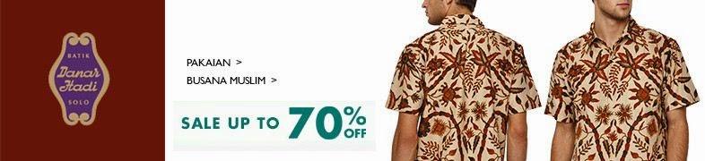 Koleksi Model Baju Batik Danar Hadi Terbaru untuk Pria  Model