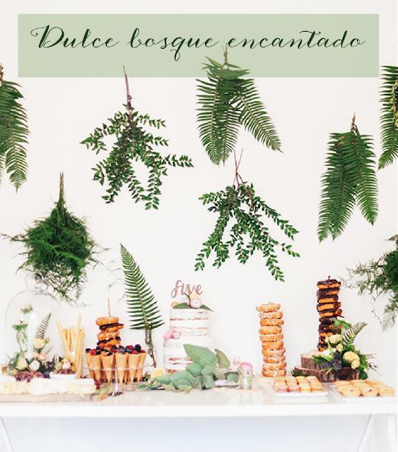 Mesa dulce ambientada en las hadas by HABITAN2