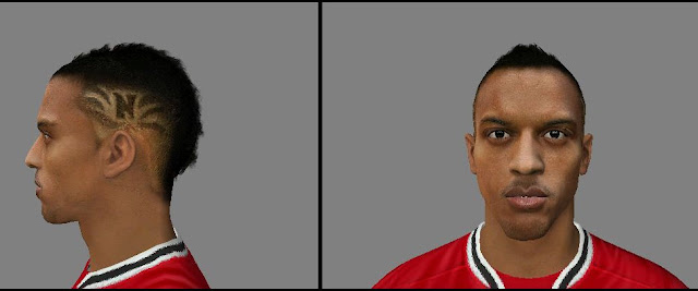 Nani UniversoKits Face FIFA12 FIFA 12: Hair Nani do Manchester United