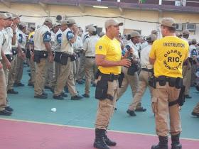 Mais de 7 mil guardas municipais formados pela Academia da Guarda.
