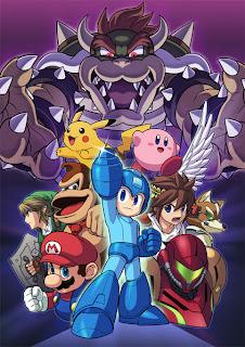super smash bros for 3ds and super smash bros for wii u artwork 1 E3 2013   Super Smash Bros. For 3DS & Super Smash Bros. For Wii U   Logo, Artwork, Concept Art, Screenshots, & Trailers