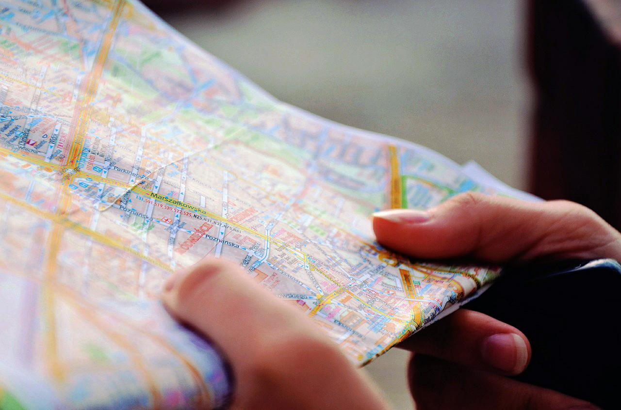 Jak łatwo orientować się na mapie