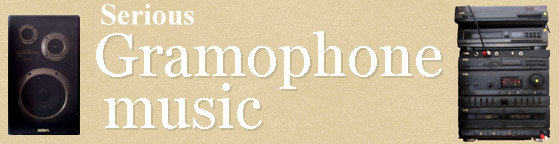 Gramophone music