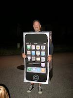 disfraz de iphone