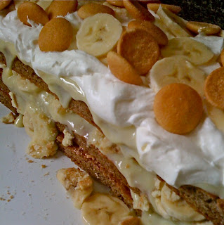 Banana Pudding Cake Photo