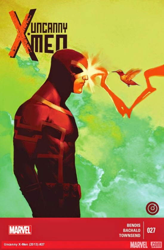 Cyclops controls his power in Uncanny X-Men 27