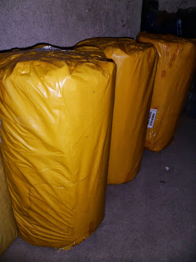 Lona amarela 4x100x30kg