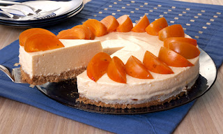 Cheesecake de caqui light