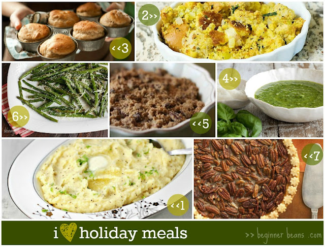 vegetarian recipes, menu for holiday meals
