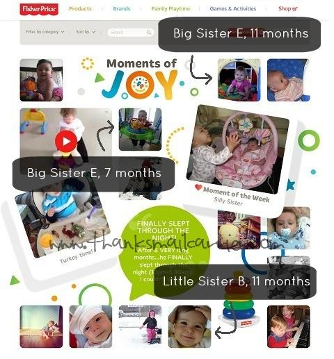 Moments of Joy website