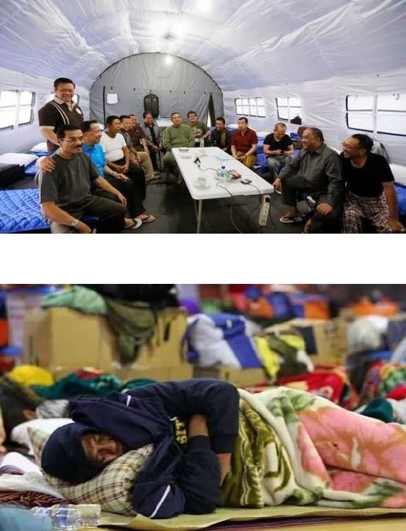 Antara SBY dan Dahlan Iskan di Sinabung