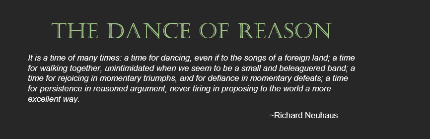 - the dance of reason