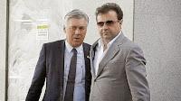 Carlo Ancelotti y José Angel Sánchez Real Madrid