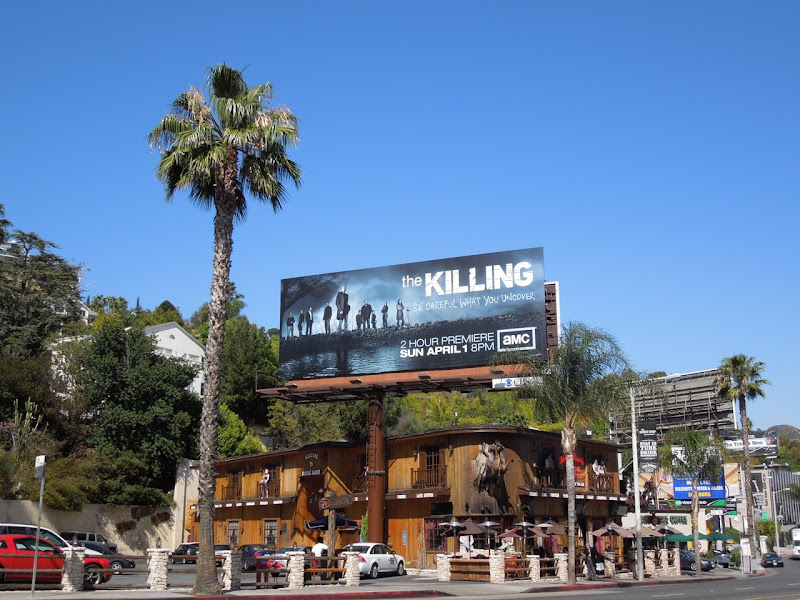 The Killing season 2 AMC billboard