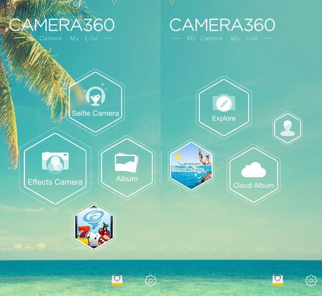 application photo filtre