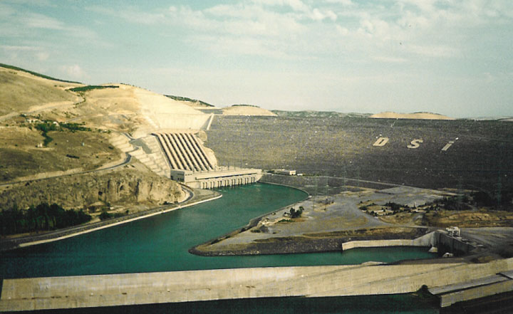 Hydroelectricity Power: Ataturk Dam Turkey