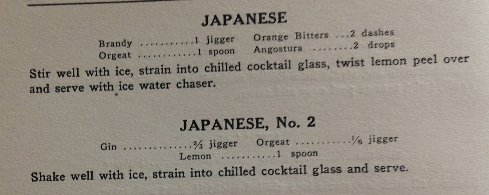 """1934 - From """"Gordon's Cocktail and Food Recipes"""" by Harry Jerro..."""