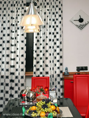 Small curtains models for kitchens in different colors - new 2014 ...