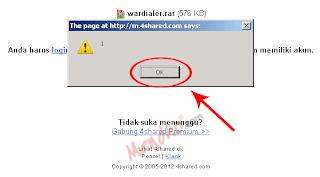 Klik ok ketika muncul pesan peringatan - Image by MeNDHo.com