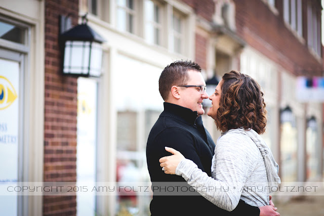 family session in downtown Terre Haute