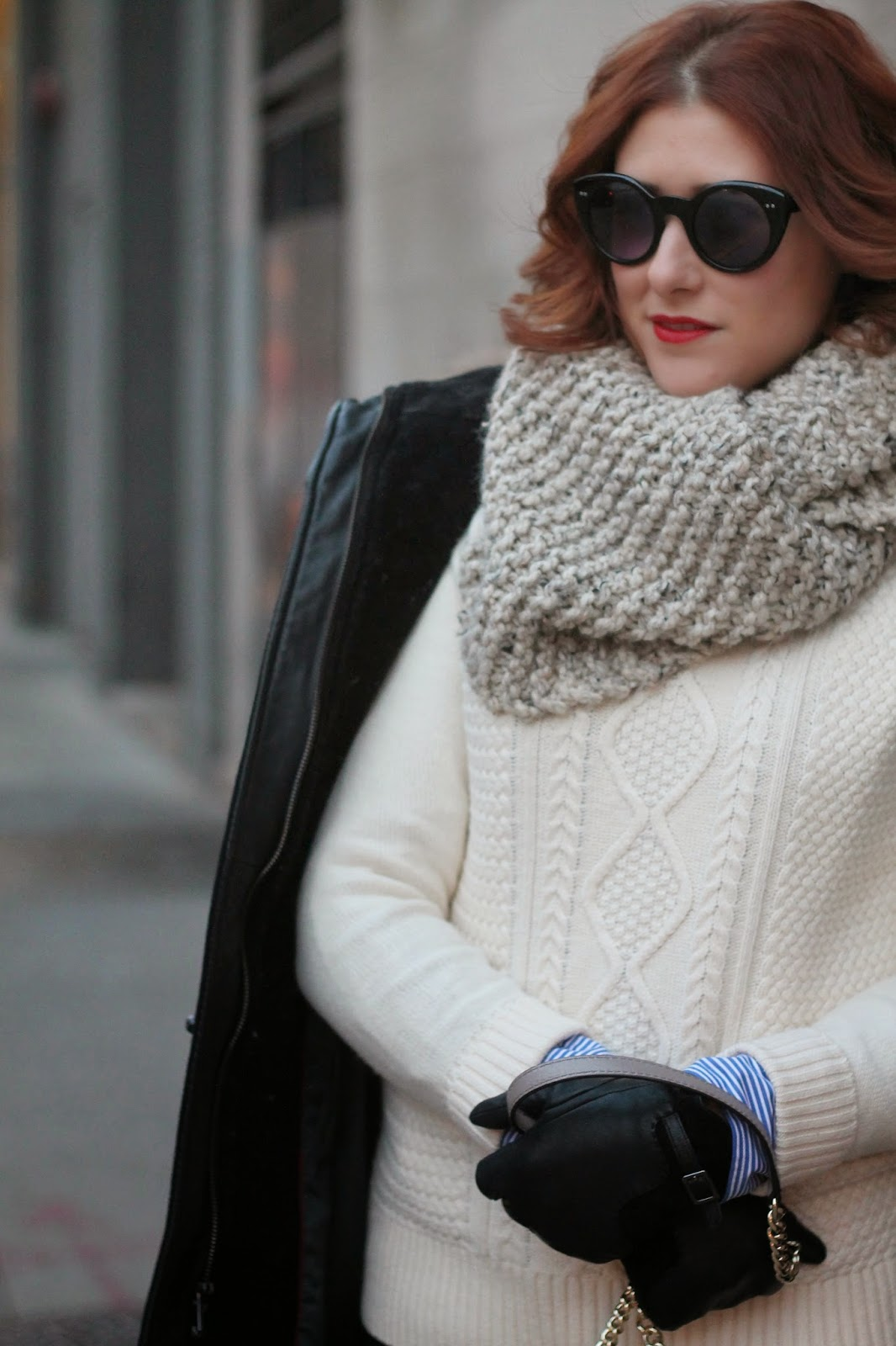 cable, knit, sweater