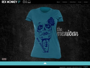 Ecommerce Website : Rex Monkey