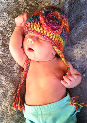 crochet pattern fruit punch hat