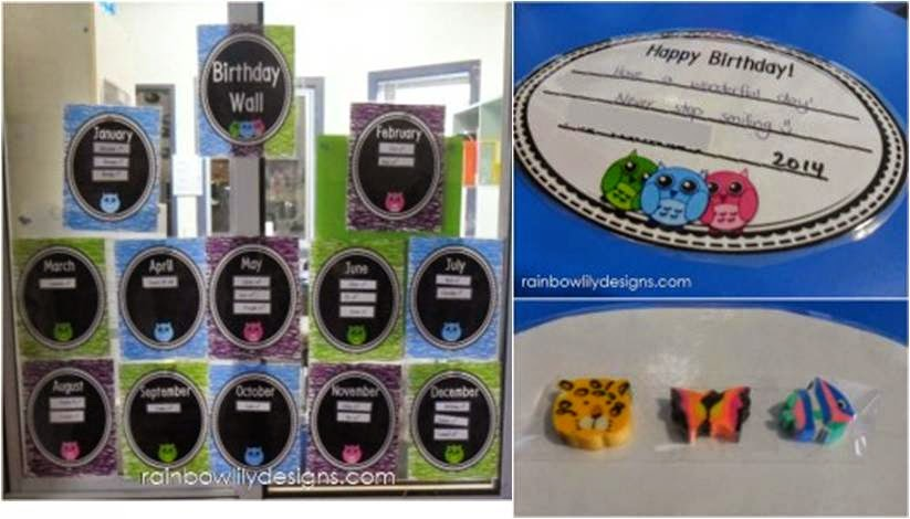 http://www.teacherspayteachers.com/Product/Birthday-Fun_owl-themed-certificates-and-bookmarks-1023084
