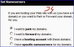 cara setting domain di goodaddy