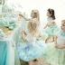 How can a romantic wedding a few lovely flower girls?