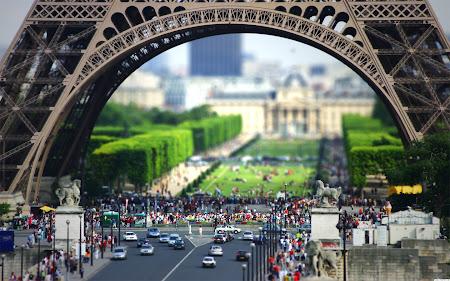 gambar menara Eiffel di Prancis
