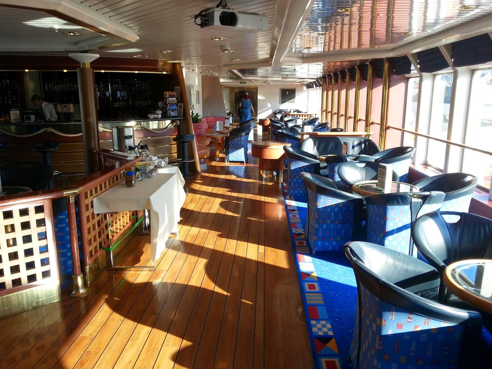 Hurtigruten MS Nordlys - Sirius Lounge
