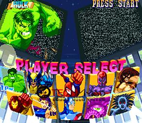 Jogo Marvel Super Heroes