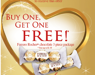 Free Ferrero Rocher Chocolate