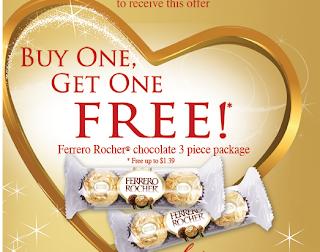 Free Ferrero Rocher Chocolate