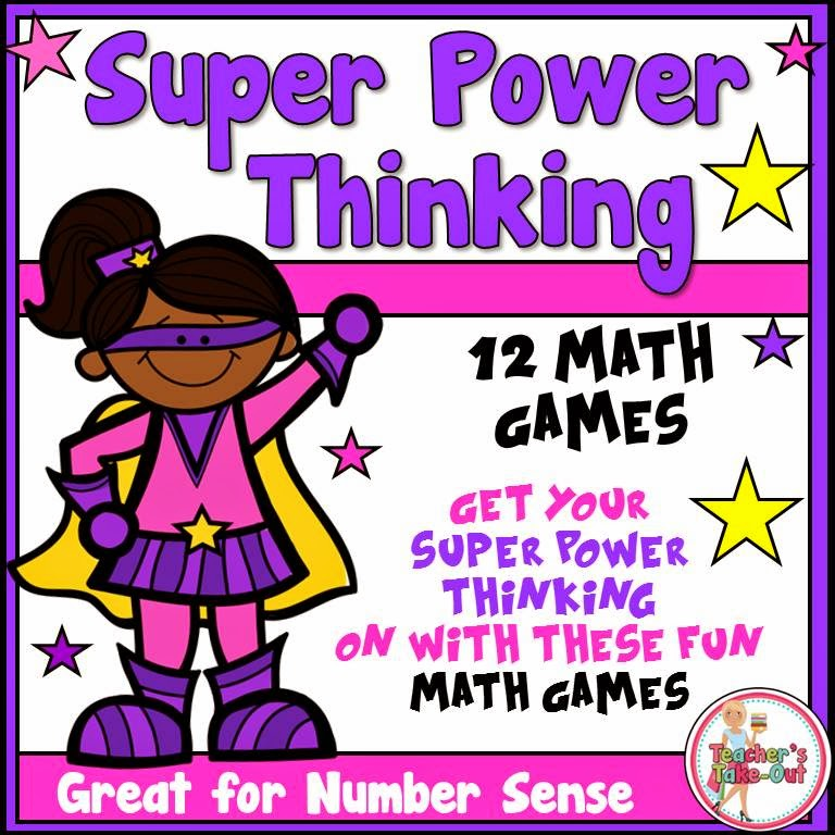 Super Power Thinking Games