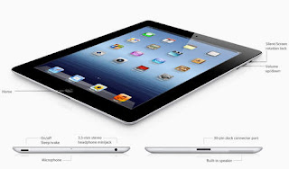 Perbandingan Ipad 2 dan New Ipad 3