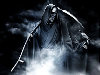 Grim Reaper Dark Horror Halloween Wallpaper