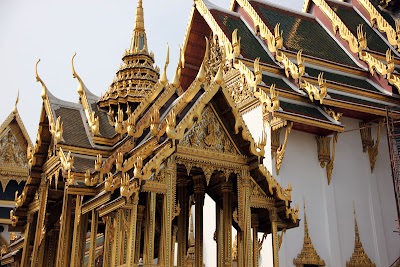 Temple du Bouddha d'émeraude - Grand Palais à Bangkok - Thaïlande