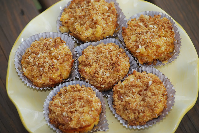My story in recipes: Macaroni and Cheese Cupcakes