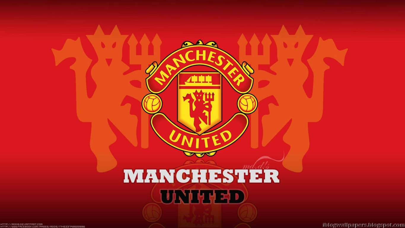 manchester united logo wallpapers collection 1 free