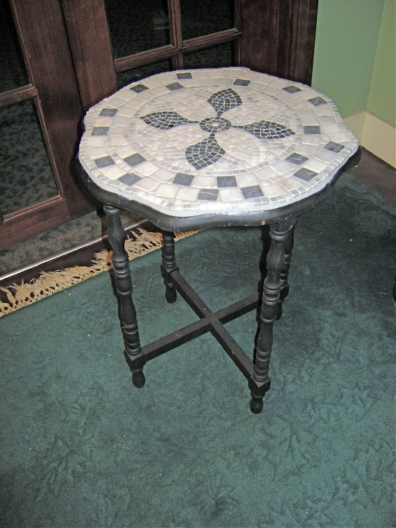 Small tiled table