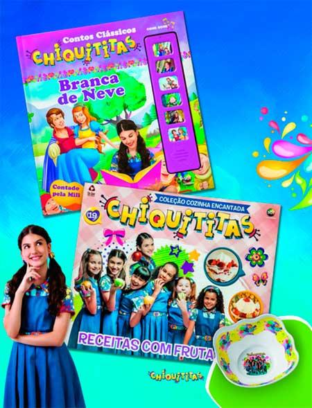 Livros infantis Chiquititas