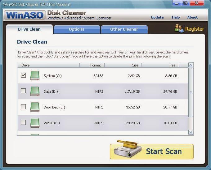 WinASO Disk Cleaner 2.7.2 (Crack) PreActivated   KaranPC4u