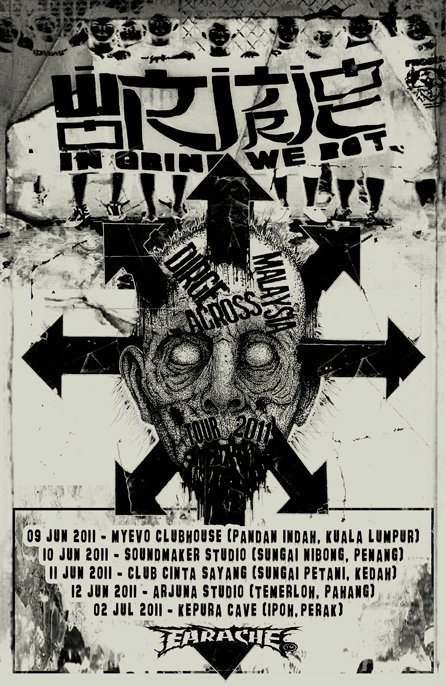 Event Dirge Across Malaysia Tour
