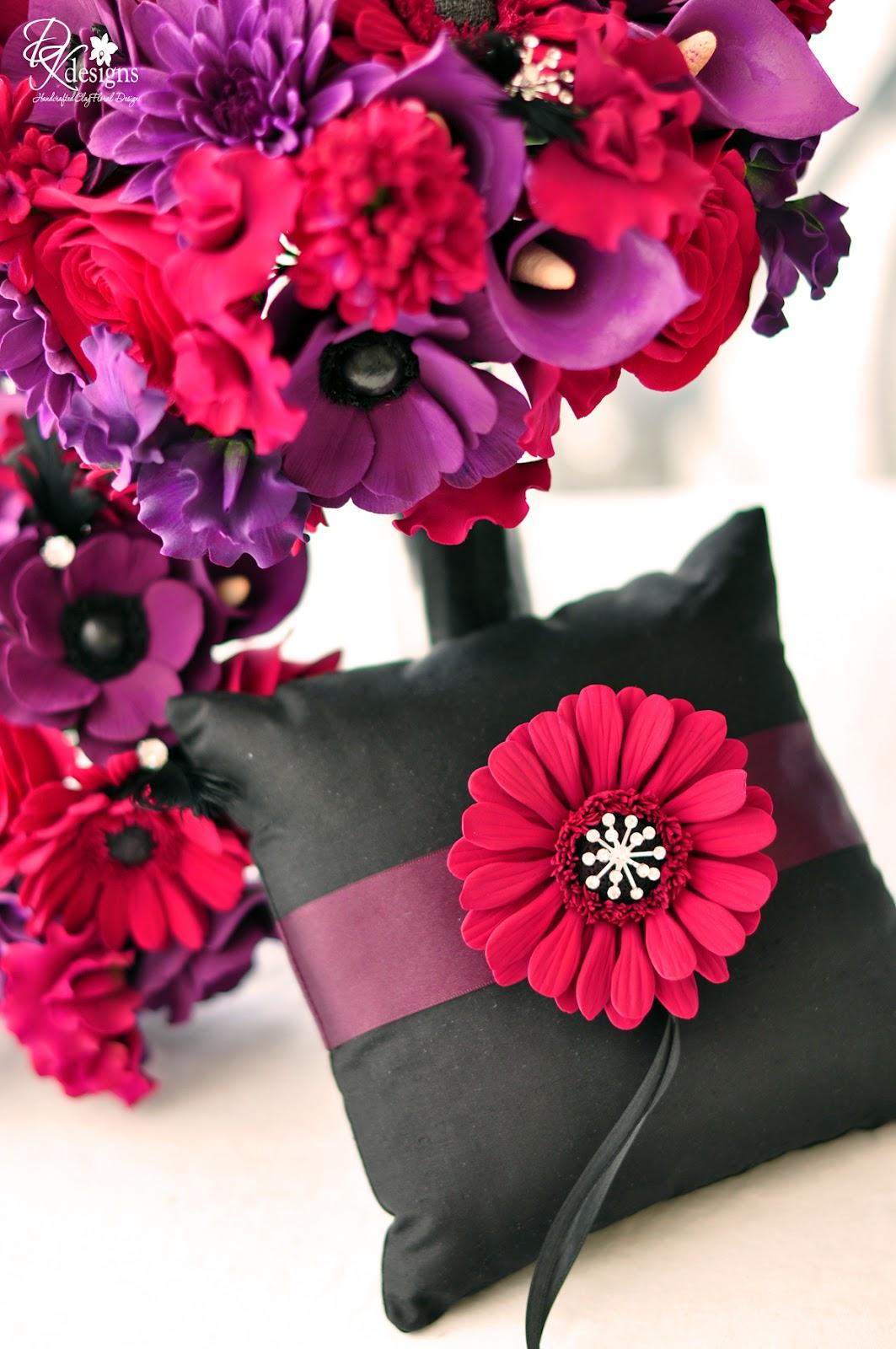 DK Designs 1920s Vintage Glam Inspired Wedding Flowers