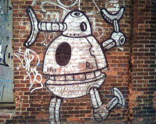 Street art public domain image