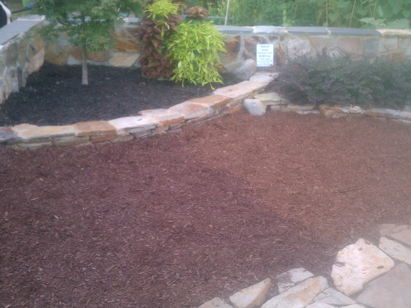 How much does a cubic yard of stone weigh for Landscaping rock estimator
