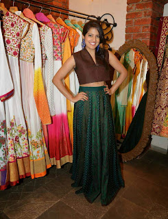 Vishakha Singh Stills at Tamanna and Shruti SS Collection Launch 11.jpg